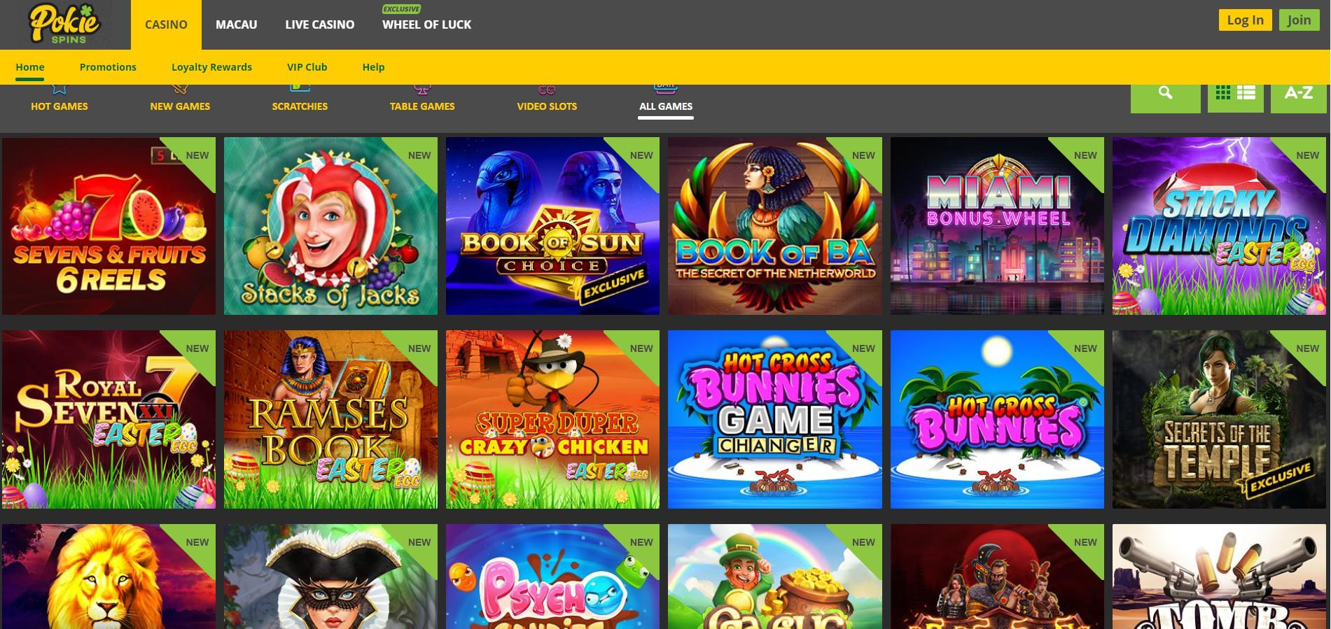Pokie Place Casino Review For Canada